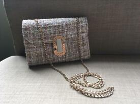 Cotton Bag with Gold Chain