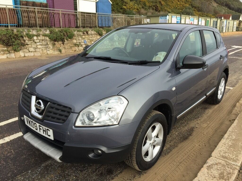 nissan qashqai visia 2wd 1 6 petrol 2008 in bournemouth. Black Bedroom Furniture Sets. Home Design Ideas