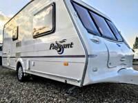 Bailey Pageant 2 berth touring caravan