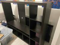Ikea set of shelves and TV unit