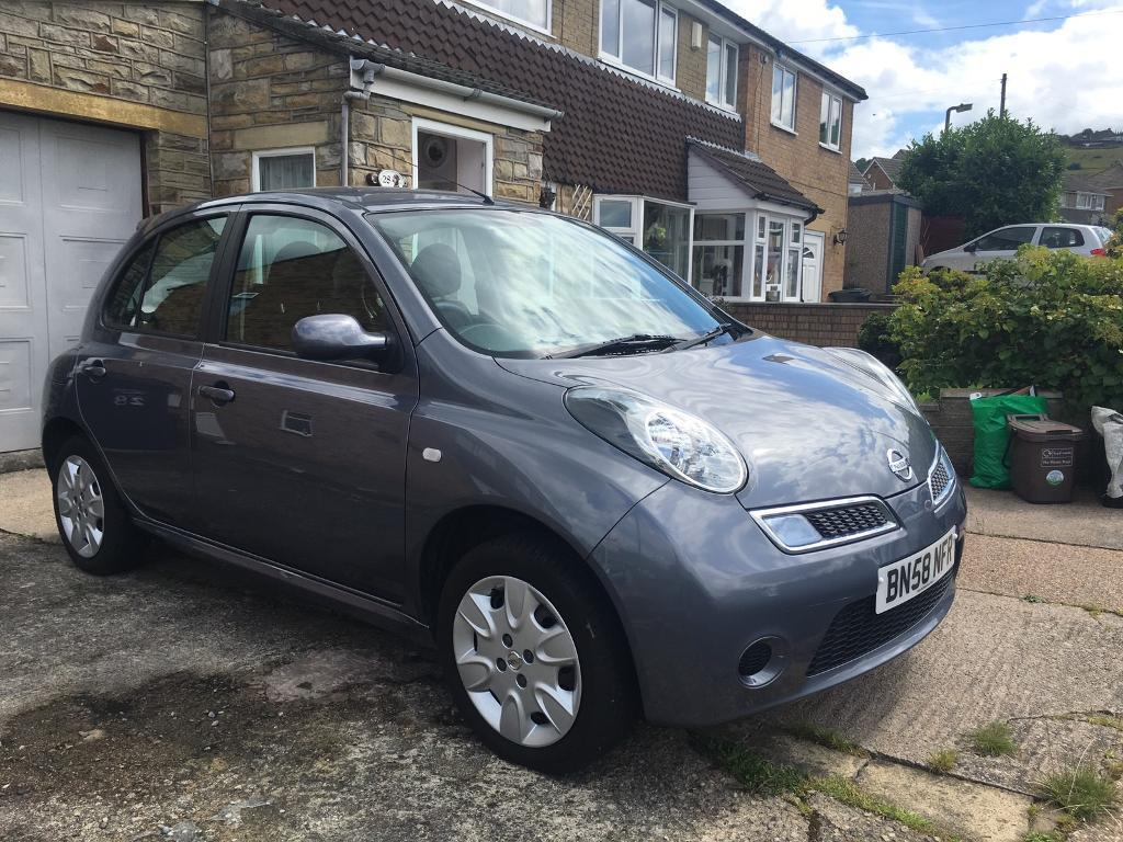 nissan micra 1 2 five door car for sale 46 000 miles in elland west yorkshire gumtree. Black Bedroom Furniture Sets. Home Design Ideas