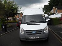 REDUCED TO CLEAR FORD TRANSIT T350 LWB HIGHTOP 2 OWNERS NO VAT LONG MOT