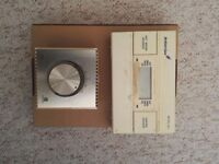 Thermostat and Hot Water/Central Heating Controller