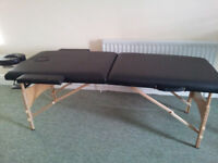 Portable Massage bed, wooden style made by FDS