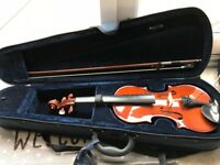 Primavera Violin 3/4 with Bow, Case & Resin