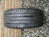 BRIDGESTONE TYRE 215 / 50 R17 6M LEFT £ 10 NO TEXTS PLEASE
