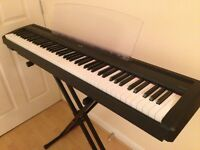 Digital Piano - Yamaha P-85 - Almost NEW with a FREE X-frame stand