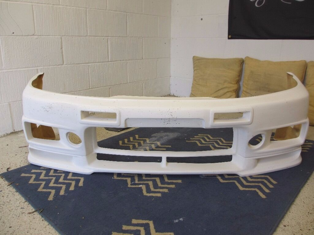 Nismo 400r Replica Front Bumper To Fit Nissan Skyline R33 Gtst In