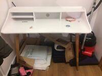 Modern White Desk 1.2mx0.6mx0.95m
