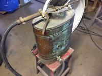 Back sprayer x2 both copper