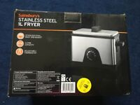 Stainless steel 1l fryer
