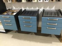 Ex display drawer packs x 3