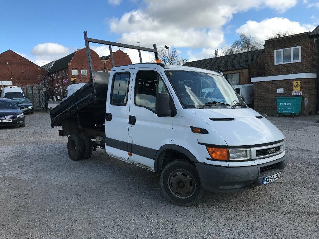 2004 iveco daily 2 3 hpi 35s12 crew cab tipper spares or. Black Bedroom Furniture Sets. Home Design Ideas