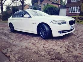 BMW 520D White 2010