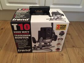 Trend T10EKL 110V Professional variable speed router. BRAND NEW, UNUSED