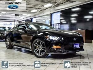 2015 Ford Mustang EcoBoost Premium, Navigation,  Heated seats