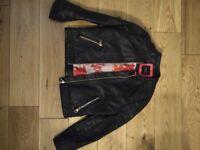 Kids Ted Baker Leather Jacket age 7