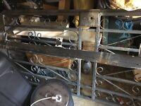 Cast Iron Security Gate For door