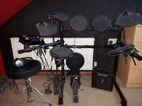 Electronic Impact Drum kit.
