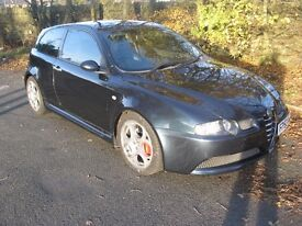 2003 53-reg Alfa Romeo 147 3.2 GTA 24V manual in blue metallic