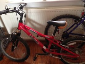 Girl's Dawes Red Tail bike for sale. Good working order, just outgrown