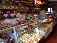 Well established bakery for Sale.