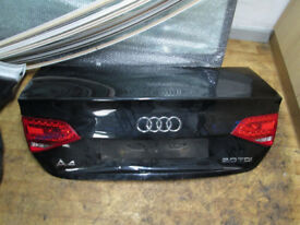 2008 -2012 AUDI A4 B8 S LINE BOOT LID SALOON FOR SALE BARGAIN!!!!!!