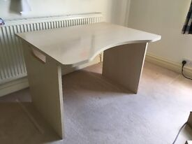 Desk and matching drawers