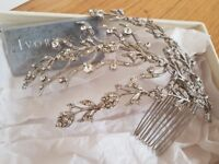 Bridal Wedding Ivory & Co Lucia hair comb accessories