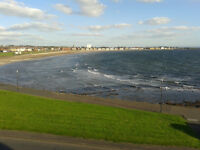 2 Bed Flat on Ardrossan Beachfront. Stunning Views