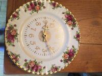 Royal Albert Wall Clock