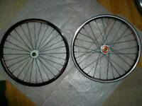 Crupi Rhythm section bmx wheel set - Micro mini, 18 inch race wheel