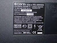 Sony 42in LCD television