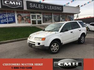 2004 Saturn VUE 4 CYL AS TRADED *UNCERTIFIED*