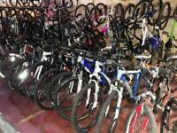 SECONDHAND MOUNTAIN BIKES GOOD SELECTION FROM £60