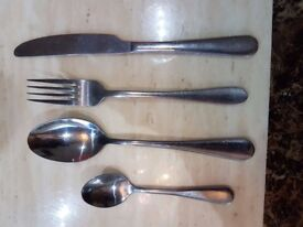 Stainless Steel Branded Cutlery, heavy s steel.
