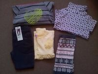 Bundle of Girl's Clothes 4-5 years - NEW - 5 items