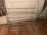 Cd or DVD rack or shoe rack