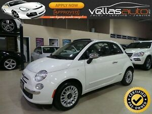 2015 Fiat 500C Lounge LOUNGE  CONVERTIBLE  LEATHER