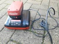 Metabo charger + 1 battery