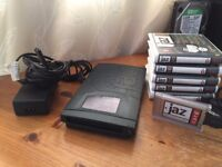 Iomega 2GB Jaz Drive also including PCMCIA card, cables and 5 disks.