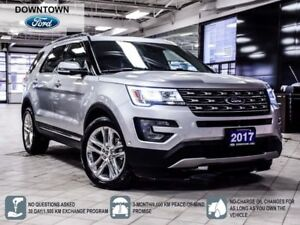 2017 Ford Explorer LIMITED|LEATHER|NAVI|PANOROOF|ACT PARK ASSIST