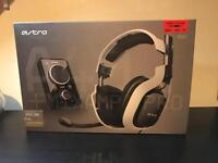Astro A40 gaming headset + Mixamp pro. Xbox, Playstation (PS) and PC.
