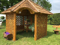 Ex Display Trolley Hut Summer House
