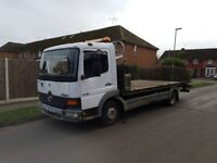 Recovery Truck 7,5T Mercedes Atego 4.2Diesel