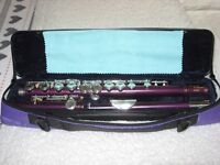 Vivace Flute - Purple Finish; New Only Played a Few Times