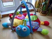 Very Padded Dragonfly Musical Play Mat Gym