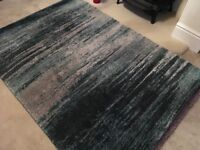 Next Abstract Rug Teal, Brand New measures 120x170 cm