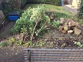 Concrete Rubble/Paving slab- Collect for free