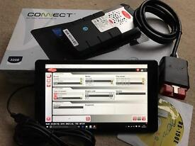 "Full Dealer car diagnostic kit 15.3 Delphi Bluetooth & WoW in 9"" tab with warranty"
